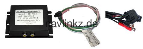 navi mit av eingang multimedia interface auf can basis f 252 r vw mfd1 audi