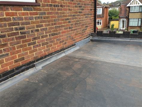 Replacing A Flat Garage Roof by Recent Project New Garage Flat Roof Dorking Surrey