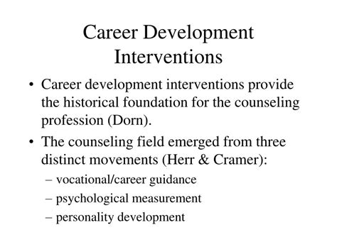 career development interventions with mylab counseling with pearson etext access card package 5th edition merrill counseling ppt career counseling strategies and techniques for the
