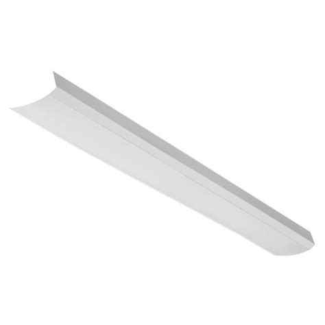 Lithonia Lighting Home Depot by Lithonia Lighting 4 Ft White Acrylic Diffuser For Led