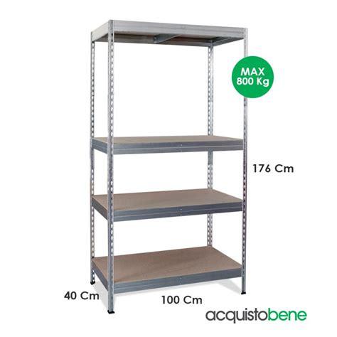 scaffale zincato scaffale in metallo zincato scaffalatura con ripiani in legno