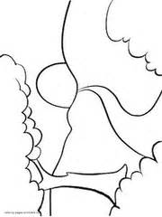 simple nature coloring pages kindergarten coloring pages nature