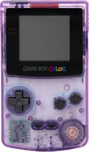 clear purple gameboy color boy color platform bomb