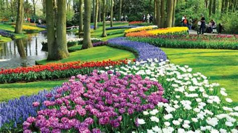 welcome to the flower garden welcome to the world s largest flower garden