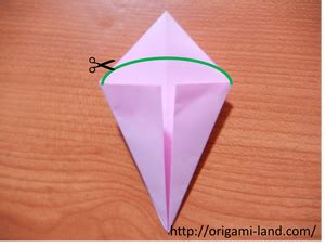 origami how to fold a plum blossom origami land