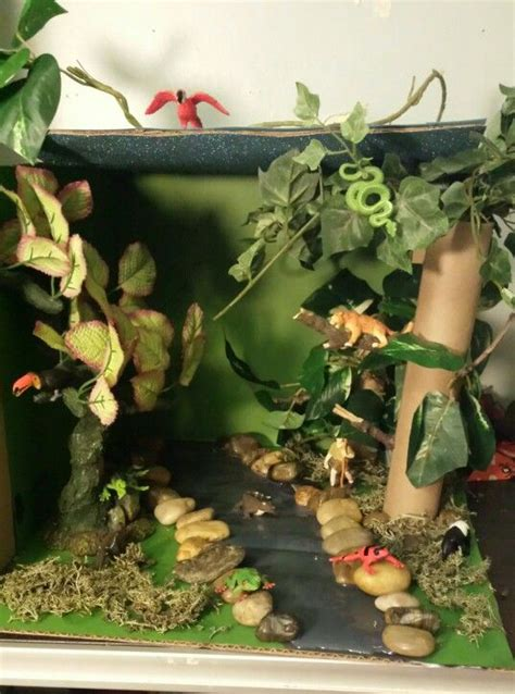 pin  diorama