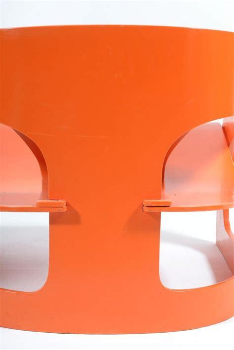 poltrona joe prezzo poltrona arancione di joe colombo per kartell 1964 in