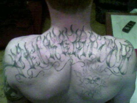 peckerwood tattoos quot peckerwood quot up in flames