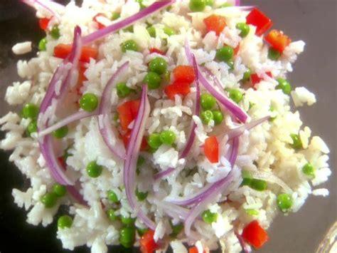 cold salad recipes cold rice salad recipe melissa d arabian food network