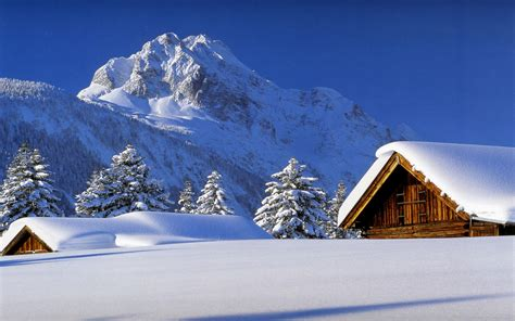 google images winter scenes 1440x900 winter cabin desktop pc and mac wallpaper
