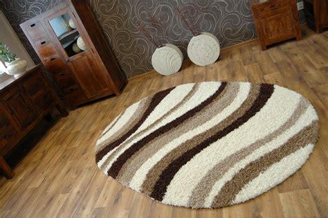 teppich oval teppich oval shaggy zena 2490 elfenbein beige