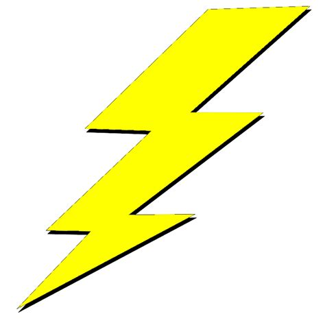 Lighting Clipart Yellow Lightning Bolt Clipart Best