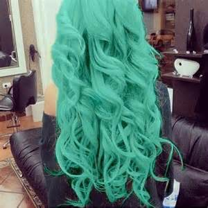 mint green hair color 1000 ideas about mint hair color on mint hair