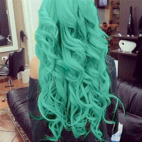 mint green hair color 1000 ideas about mint hair color on mint hair