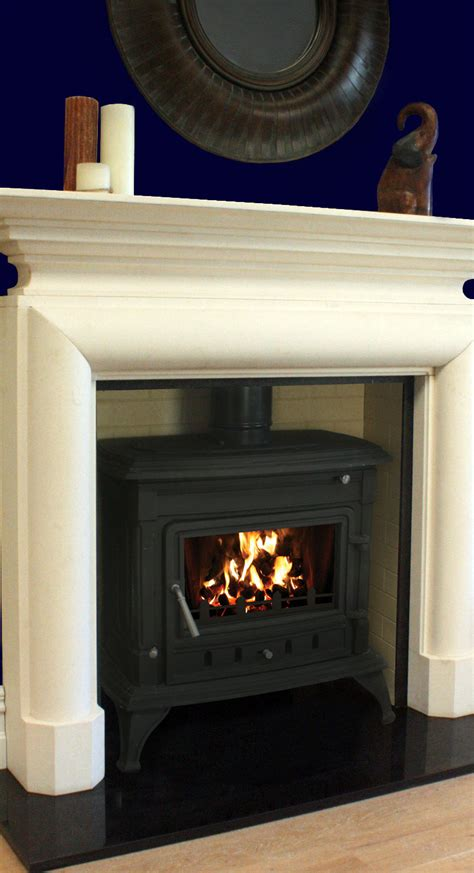 Fireplaces Limerick by Laune 14kw Elm Marble Granite