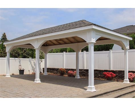 open gazebo vinyl single roof open rectangle gazebos with metal roof