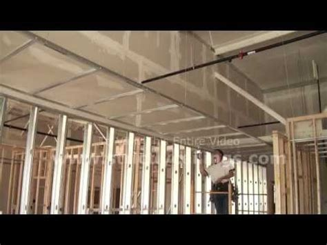 How To Install Ceiling Grid by How To Install Suspended Ceilings Drywall Grid Systems