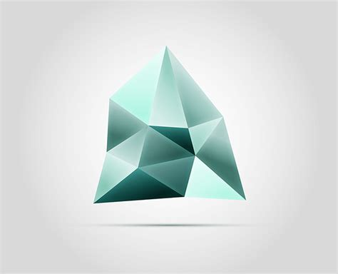 create pattern with logo how to create a faceted gemstone logo graphic in adobe