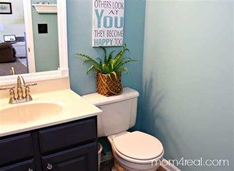 cheap bathroom makeovers budget bathroom makeover mom 4 real