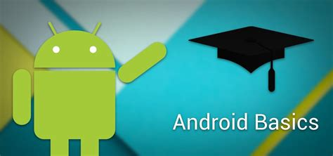 android tutorial android basics a series of tutorials for beginners