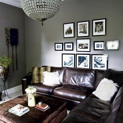 paint ideas with brown leather furniture search