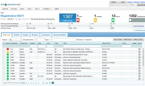 Aircraft Maintenance Tracking Spreadsheet by Aircraft Maintenance Tracking Spreadsheet Laobingkaisuo