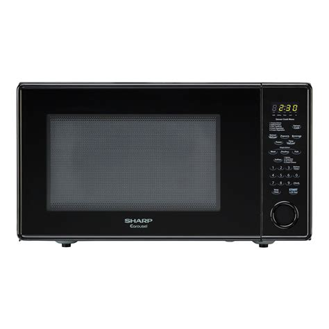 Sharp Countertop Microwave Ovens sharp r559y carousel 1 8 cu ft 1100w countertop
