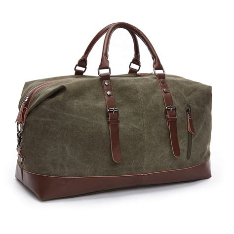 Travel Original Bag Traveling Bag 1 original z l d canvas leather travel bags carry on luggage bags duffel bags travel tote