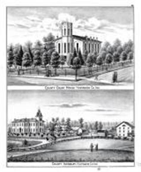 huntington court house county court house huntington county county infirmary atlas huntington county 1879