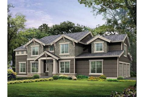house plans craftsman two story home design and style