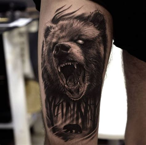 bear skull tattoo 50 amazing tattoos designs and ideas 2018 page 5