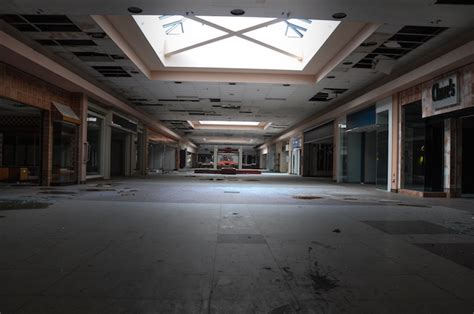 haunting photos of a deserted mall that is now covered in black friday haunting documentary photo series captures