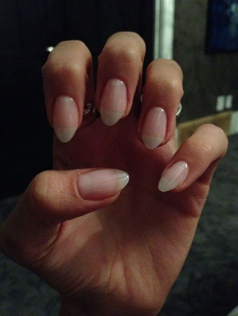 almond nails look of almond nails and pinterest the world s catalog of ideas