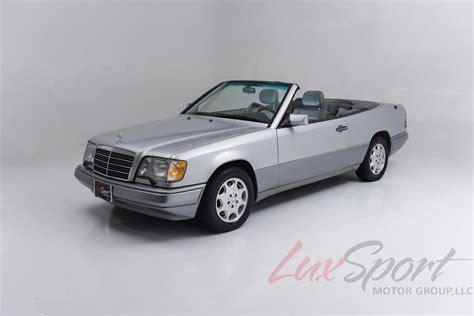 used mercedes convertible 1995 mercedes benz e320 cabriolet e320 stock 1995110 for