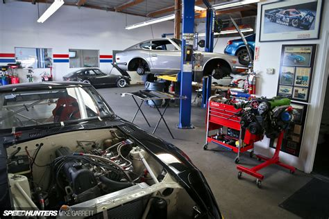 Garage Motor Z Car Garage Where Datsun Geeks Rule Speedhunters