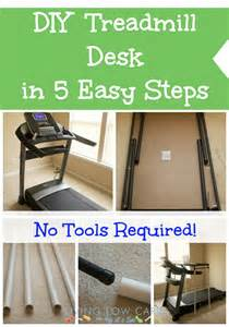 Treadmill Desk Diy How To Make A Diy Treadmill Desk In 5 Easy Steps Holistically Engineered