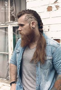 viking braided sideburns 30 mohawk hairstyles for men mohawks haircuts and