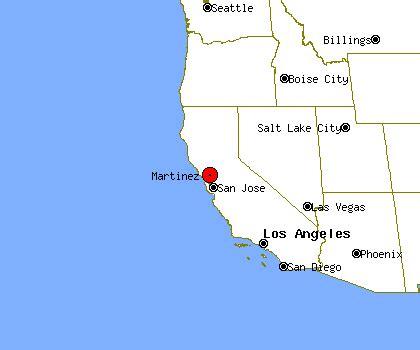 martinez california map martinez profile martinez ca population crime map