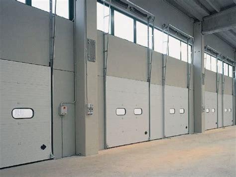 portoni sezionali usati portone sezionale dock breda sistemi industriali