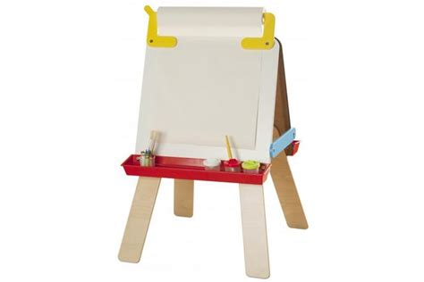 childrens easel draw colour and paint