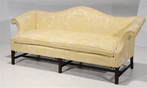 camel back sofa for sale chippendale style and upholstered camelback sofa late