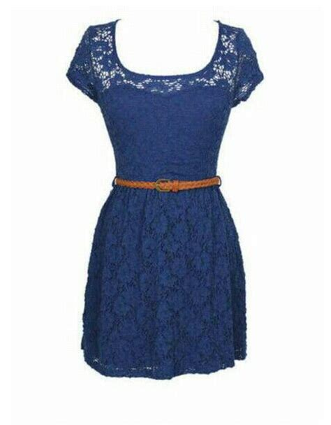 Patio Dresses by Laced Navy Blue Dress Casual Dress Dresses