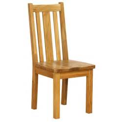 Dining Chair Oak Vancouver Oak Dining Chairs With Timber Seats Vertical Slats Pairs