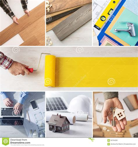 diy and home renovation steps stock photo image 56794283