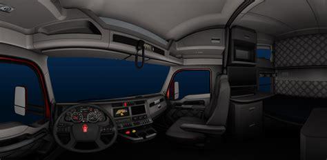 scs software s kenworth t680 interior