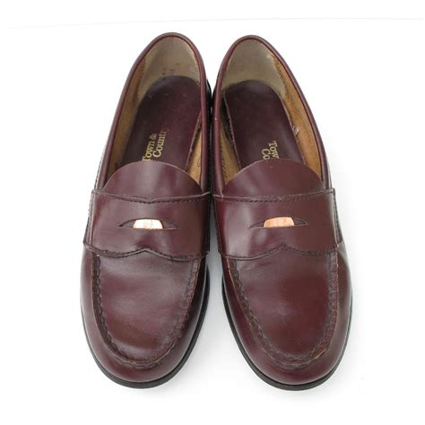 pennie loafers shoes were called loafers and real pennies were