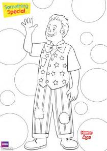 Mr Tumble Colouring Pages Sketch Coloring Page sketch template