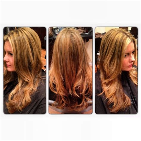 long layered highlighted hairstyles layers and highlights long hairstyles globezhair