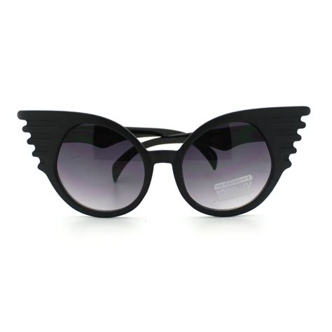 unique glasses novelty bat wing shaped sunglasses new unique design black