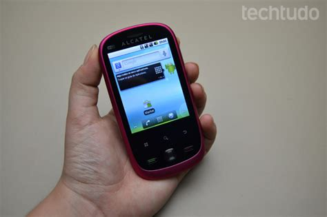 Hp Android Alcatel One Touch 890d review one touch 890d techtudo